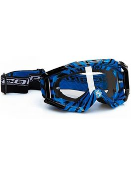 Окуляри для кросу Scorpion Neon blue/black, Фото 1