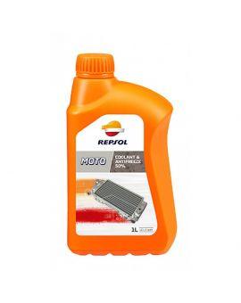 """Охлаждающая жидкость Repsol Moto Coolant & Antifreeze 50% """"1L"""", Фото 1"""