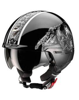 Шолом Scorpion Exo-100 Skull, Фото 1