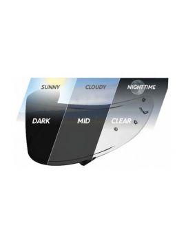 Стекло для шлема Shoei NXR/X-Spirit 3/Ryd (Cwr-1) photocromic, Фото 1