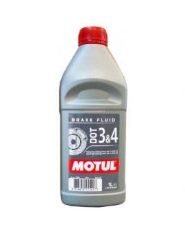 """Гальмівна рідина Motul Dot 3&4 Brake Fluid """"1L"""", Фото 1"""