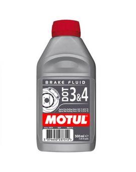 """Гальмівна рідина Motul Dot 3&4 Brake Fluid """"500ml"""", Фото 1"""
