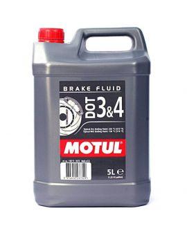 "Тормозная жидкость Motul Dot 3&4 Brake Fluid ""5L"", Фото 1"