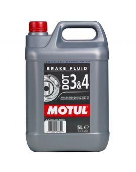 """Гальмівна рідина Motul Dot 3&4 Brake Fluid """"5L"""", Фото 1"""