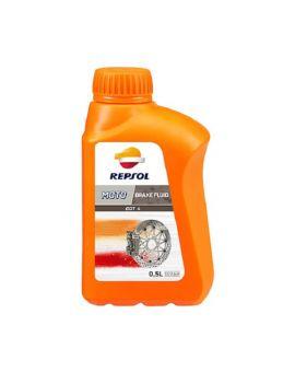 """Гальмівна рідина Repsol Moto Dot 4 Brake Fluid """"500ml"""", Фото 1"""
