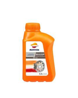 """Гальмівна рідина Repsol Moto Dot 5.1 Brake Fluid """"500ml"""", Фото 1"""
